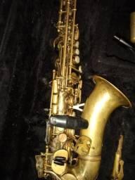 Sax soprano curvo marcar CSR desplacado é pegar e tocar