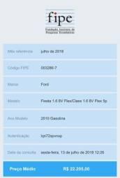 Ford Fiesta Sedan 10/11 1.6 8V Flex/Class 5 Portas - 2010