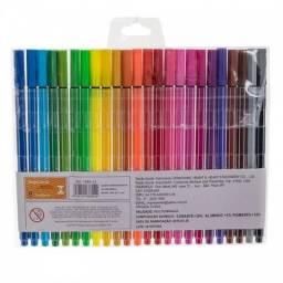 Kit 48 canetas ponta porosa+2 livros pintura johanna basford+Frete Grátis