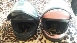vendo Dois capacete,
