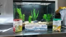 Vendo Kit de Aquário: Água Doce