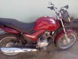 Moto 150 CG vermelha cara de gato 2 - 2009