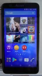 """Smartphone Sony Xperia E4 dual chip, tela 5"""" com tv digital, pouco uso impecável"""