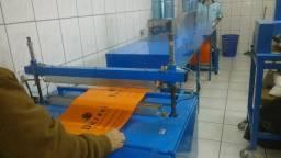 Máquina para produção sacolas personalizadas