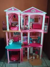 Casa da boneca Barbie
