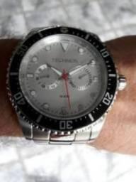 c178ce1351a Relógio Technos Aço Diver Mergulho 10 ATM (BAR)