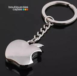 Chaveiro Maça Apple Chaveiro Metalico iPhone iPad