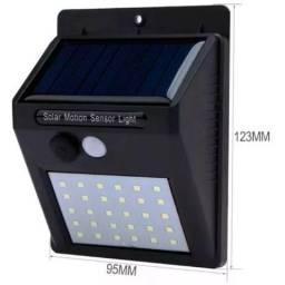 Luminária Solar de Parede Com Sensor Mov e Acend Automático 20 Led Xtrad- Mega Infotech