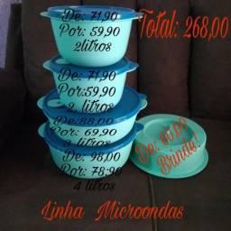 Kits Tupperware, vendo ou troco, 570,00