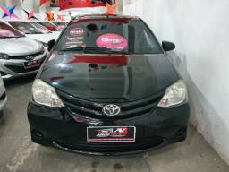 Toyota Etios Sedan 2015 1 mil de entrada Aércio Veículos fjt - 2015