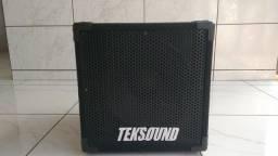 Caixa Passiva Contrabaixo Teksound 1x12 300wrms