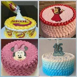 Bolo de aniversário (juh cakes)