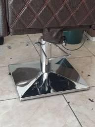 Pe quadrado paa cadeira de salao
