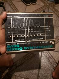 Pedal Microsynth Bass Electro Harmonix