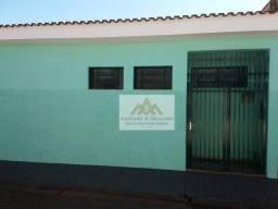 Casa com 1 dormitório para alugar, 50 m² por R$ 600/mês - Campos Elíseos - Ribeirão Preto/