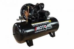 Compressor motomil 250l *novo