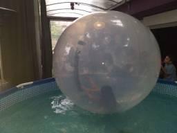 Water ball com piscina