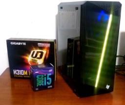 PC Gamer Top - i5 9400F, Gtx 1660 Super 6gb ddr6, SSD 120 gb, 8gb Ddr4 -9ª Geração
