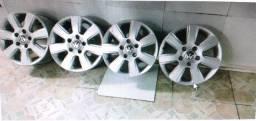 Jogo de rodas completo da Caminhonete Amarok VW
