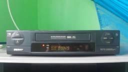 Vídeo cassete Semp Toshiba VC-X570. Com controle remoto! Raridade!