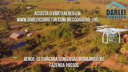 Chácara Urbana em Rolante, Fazenda Passos 3.308m². Peça o Vídeo Aéreo
