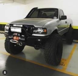 Ranger Diesel 4x4 Cabine Simples eixos de Troller