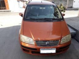 Carro idea 1,8 flex ano 2005 e 2006 cor laranja carro top