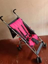 Carrinho Guarda-chuva Pocket Multikids Baby Rosa