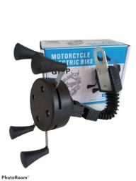 Suporte Garra Para Celular Moto Bike Sem carregador Novo