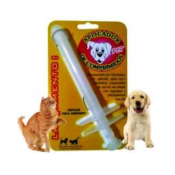 Aplicador De Comprimidos Para Gatos E Cães