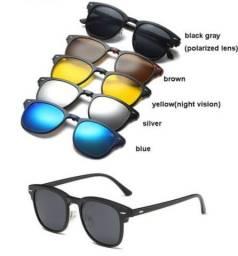 Vendo óculos com várias lentes