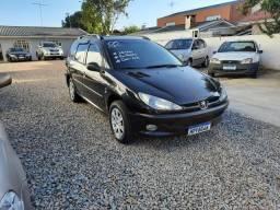Oportunidade!!! Peugeot 206 sw 1.6 flex ano 2005 completa só  $9.800