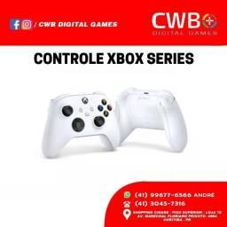 Controle Xbox Series X/S - Novo, lacrado e com garantia. Loja Física