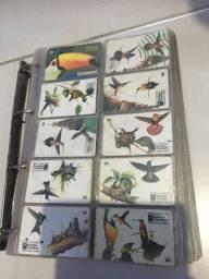 Cartões telefônicos antigos