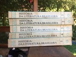 História da Literatura Brasileira - Sílvio Romero (5 volumes)
