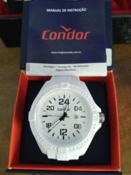 Relógio Condor prova d água zero manual caixa garantia.