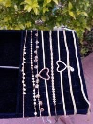Semi jóias - folheados