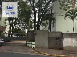 Apartamento com 2 dormitórios para alugar, 56 m² por R$ 580/mês - Nova América - Piracicab