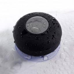 Caixa De Som Bluetooth A Prova d'água com Ventosa
