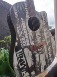 Vendo violão marca mormaii semi novo ,elétrico , capa vai junto!