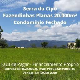 Título do anúncio: Terrenos de 20.000m² Ideais para Sítios Condomínio a 6km das Cachoeiras