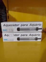 Aquecedor para aquário 5w 127v