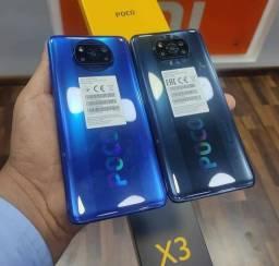 Poco X3 128 GB/6 GB Ram Azul/Cinza