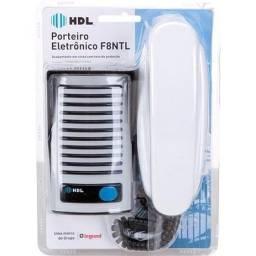 Interfone Porteiro Eletrônico Hdl F8 Ntl S/ instalação completo