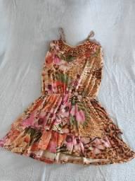 Vestido Estampado tamanho P
