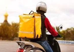 Motoboy com remuneração por entrega e saída mínima