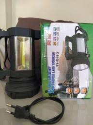 Lanterna recarregável 2X1