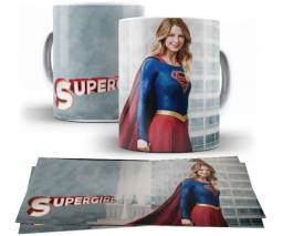 Kit Canecas Supergirl