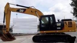 escavadeira hidráulica caterpillar 2015, modelo 320d2