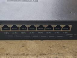 Switch 8 Portas D-net 10/100 Mbps poe Hub Usado